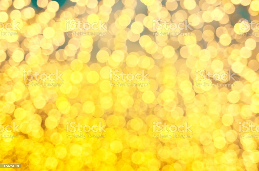 Holiday lights defocused abstract background