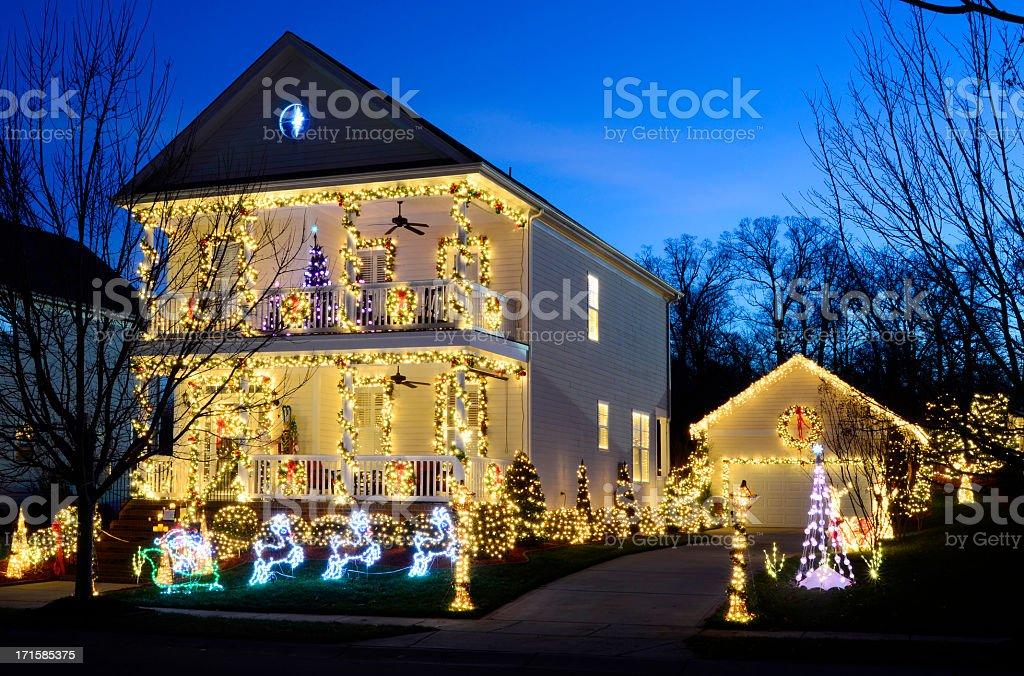 Holiday Lights stock photo