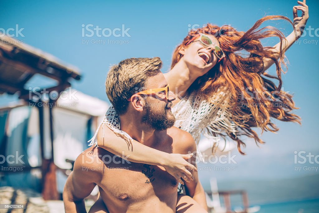 Holiday mode ON stock photo