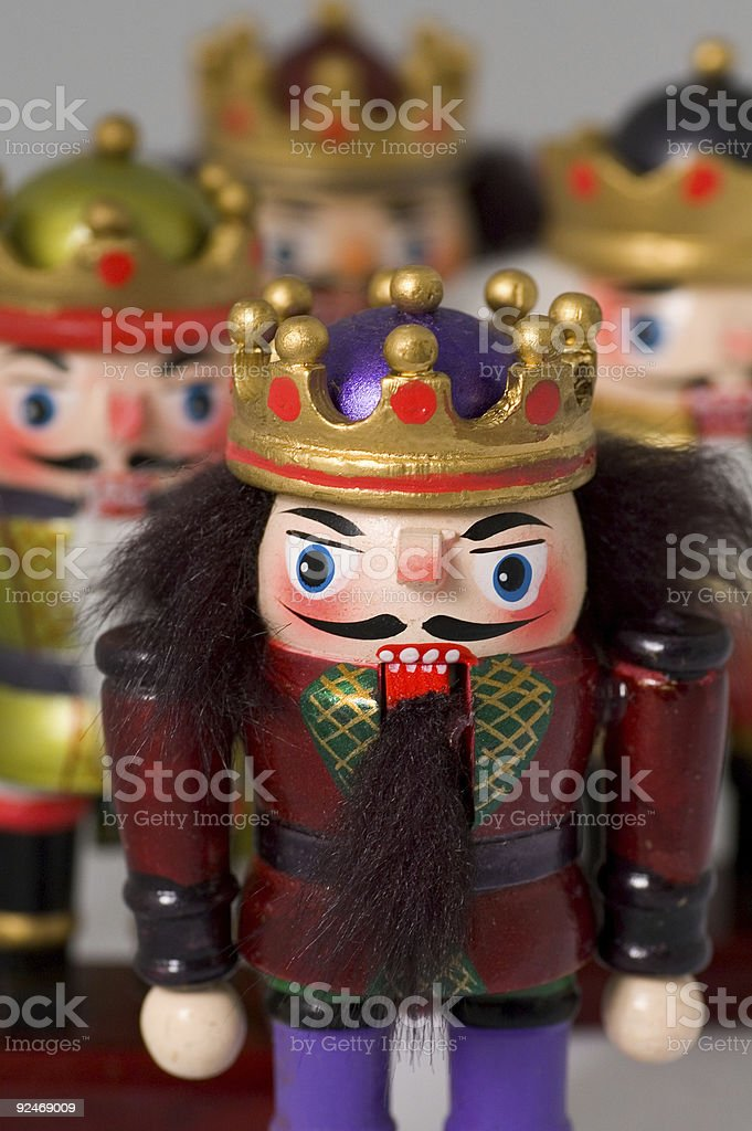 Holiday Nutcrackers royalty-free stock photo