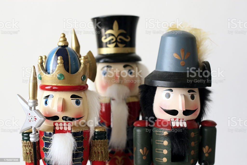 Holiday Nutcrakers royalty-free stock photo