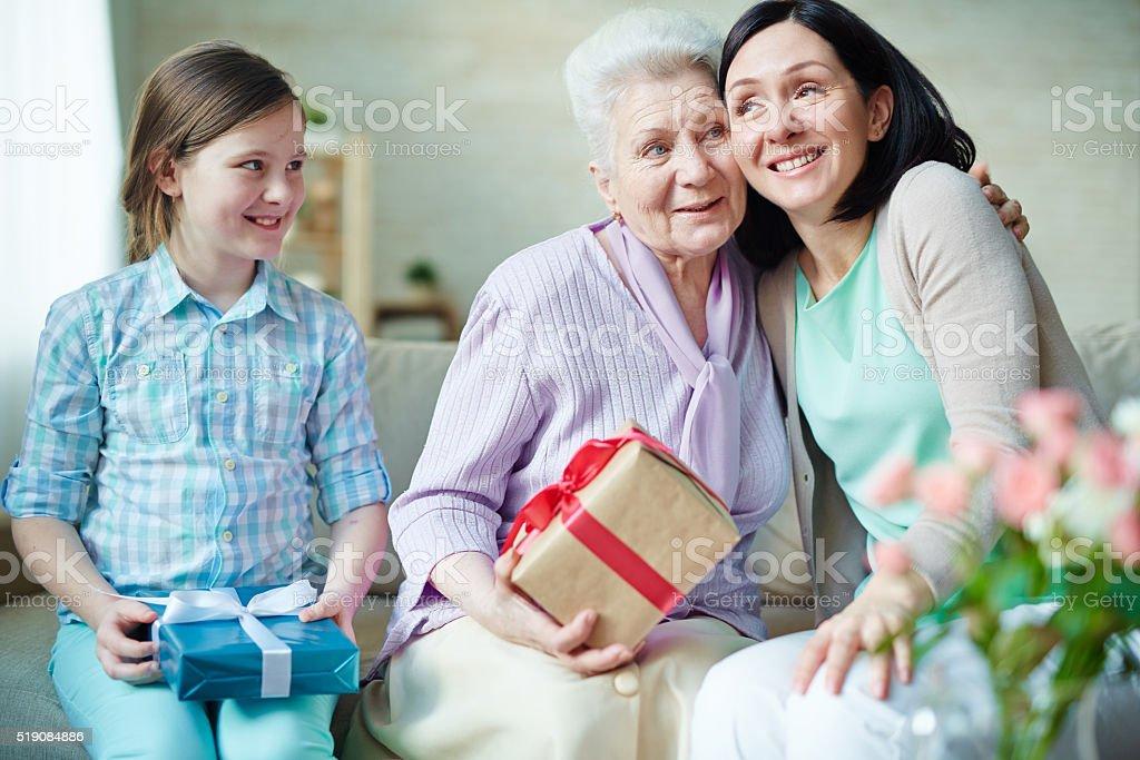Holiday of women stock photo