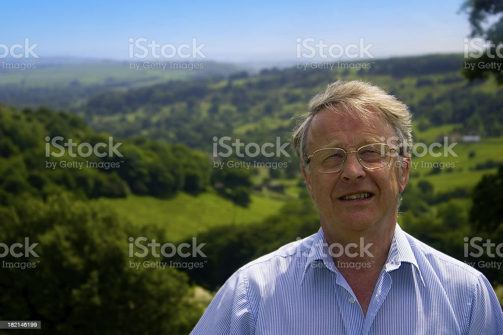 Holiday On the Hill Top royalty-free stock photo