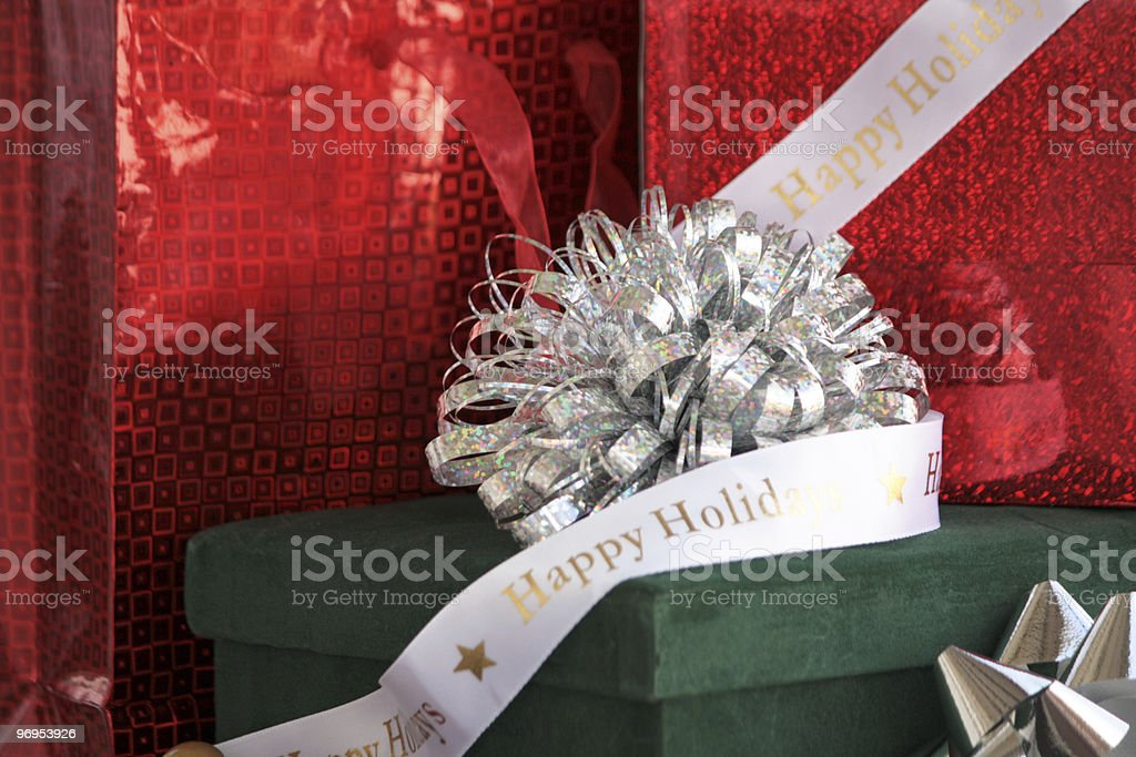 Holiday Packages royalty-free stock photo