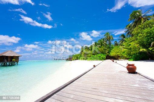 istock Holiday paradise 861705356
