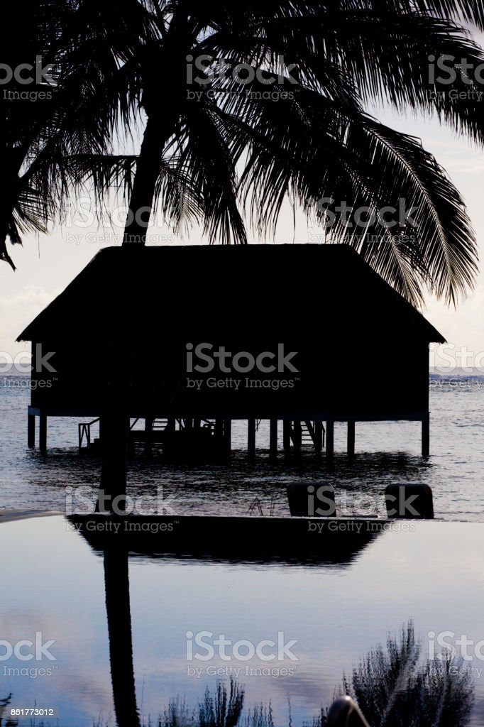 Holiday paradise stock photo