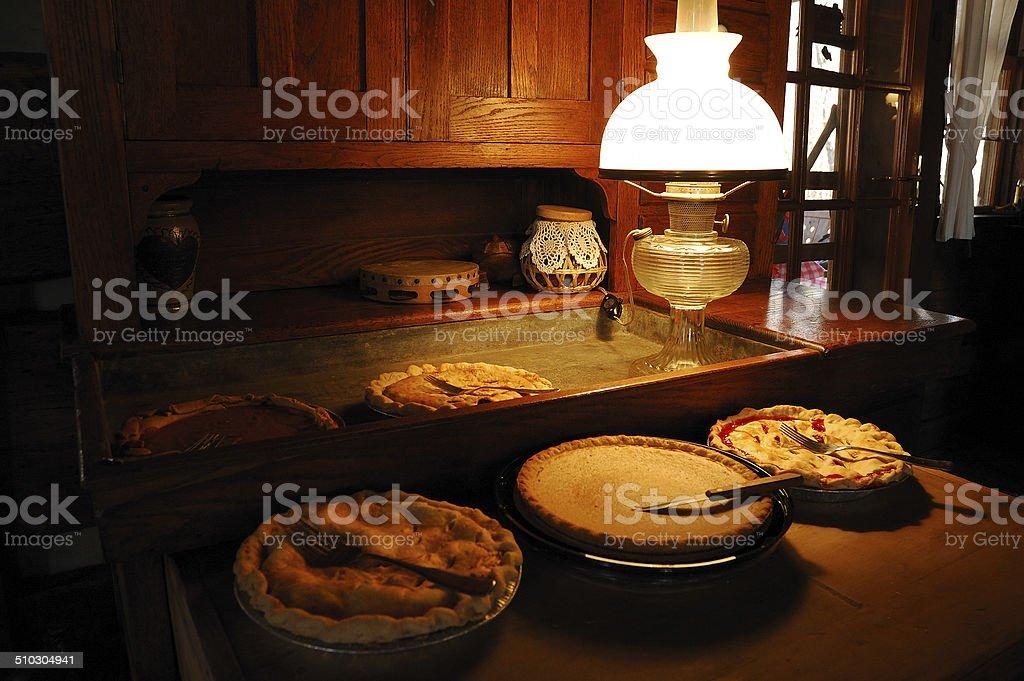 Holiday Pie stock photo