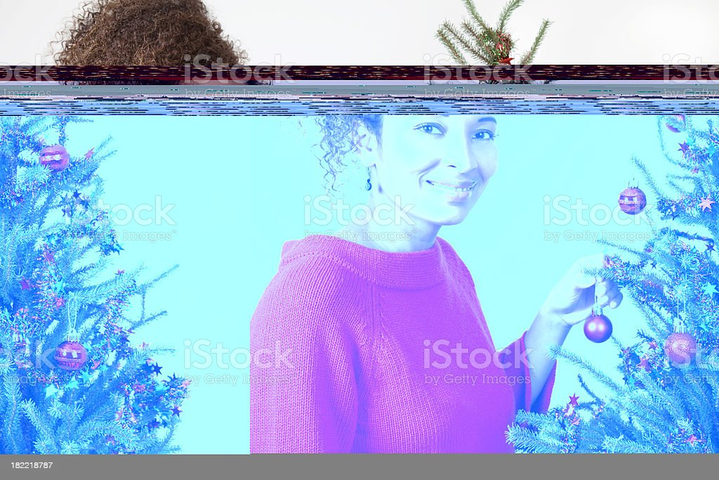 Holiday Portrait royalty-free stock photo