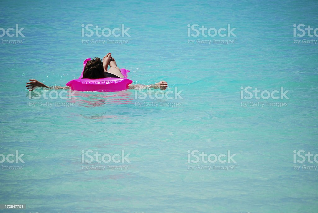 Holiday relaxation stock photo