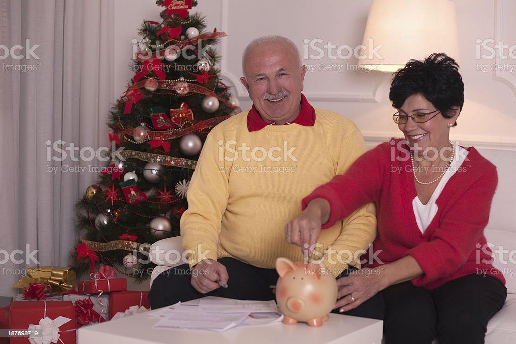 Holiday saving. royalty-free stock photo