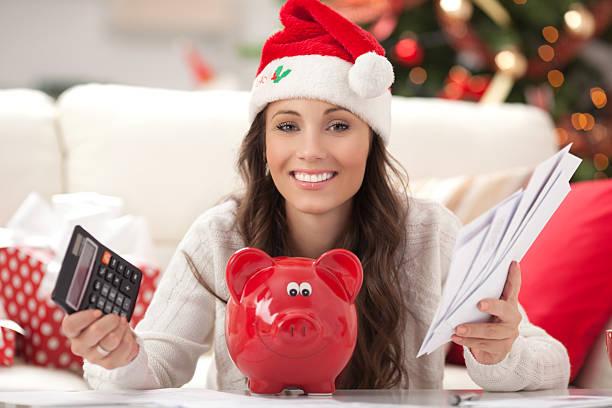 spese per le vacanze. - holiday and invoice family foto e immagini stock