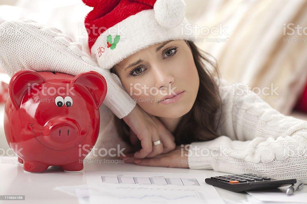 Holiday spending. stock photo