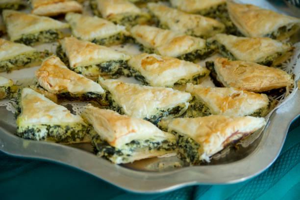 Holiday Spinach Pastry, Greek Spanakopita