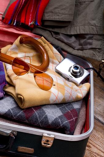 휴가 가방 및 액세서리입니다 여행 컨셉 관광에 대한 스톡 사진 및 기타 이미지