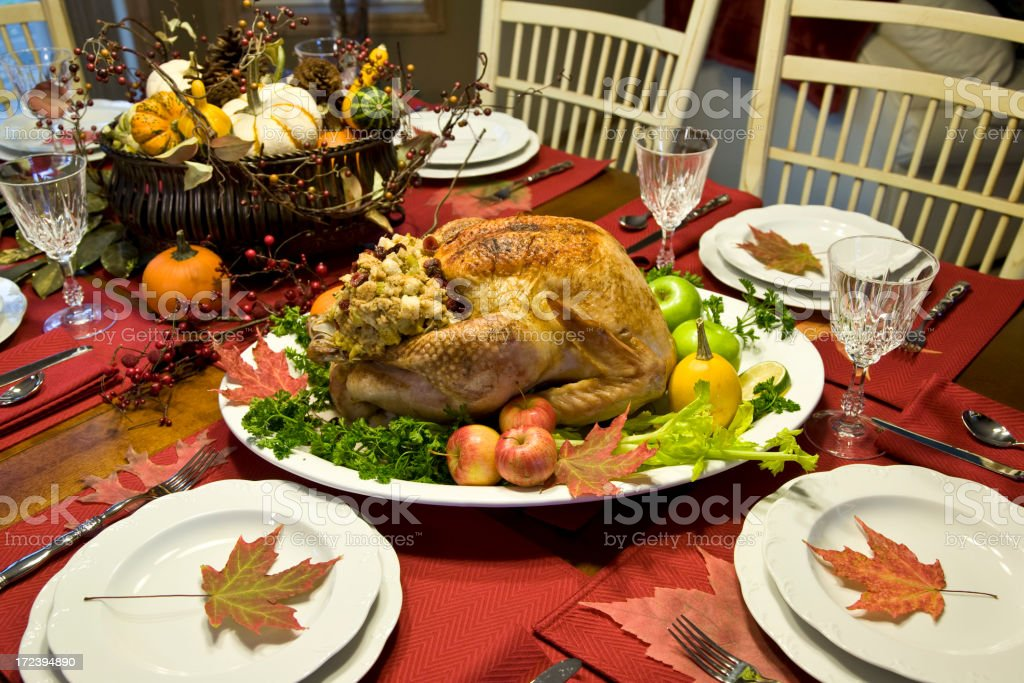 Holiday Table (XL) royalty-free stock photo