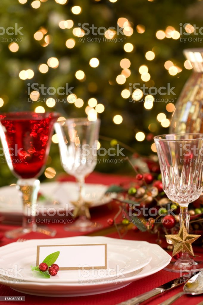 Holiday Table (XXL) royalty-free stock photo