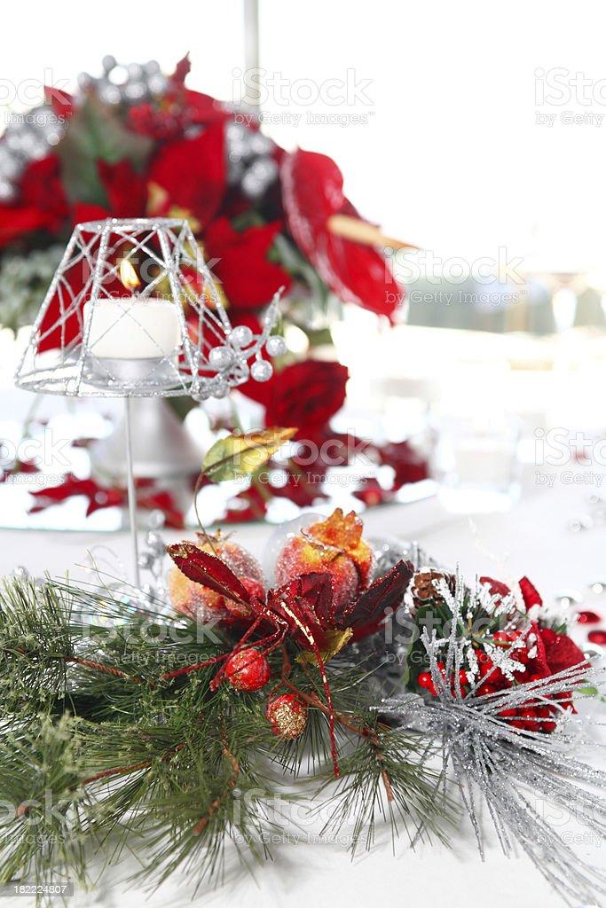 Holiday Table royalty-free stock photo