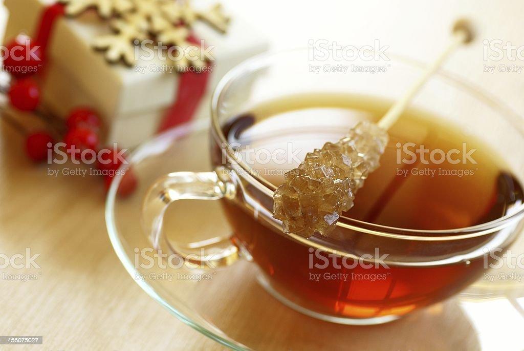 Holiday tea royalty-free stock photo