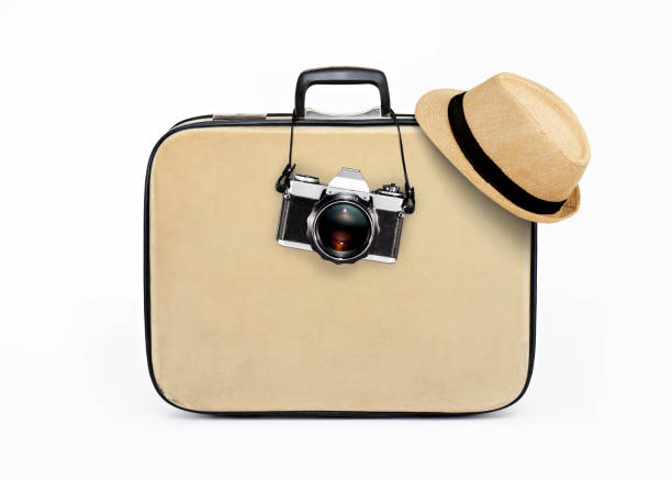 holiday travelling - luggage stock photos and pictures