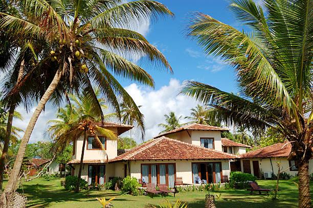 Holiday villa at the popular hotel and palms, Bentota – Foto