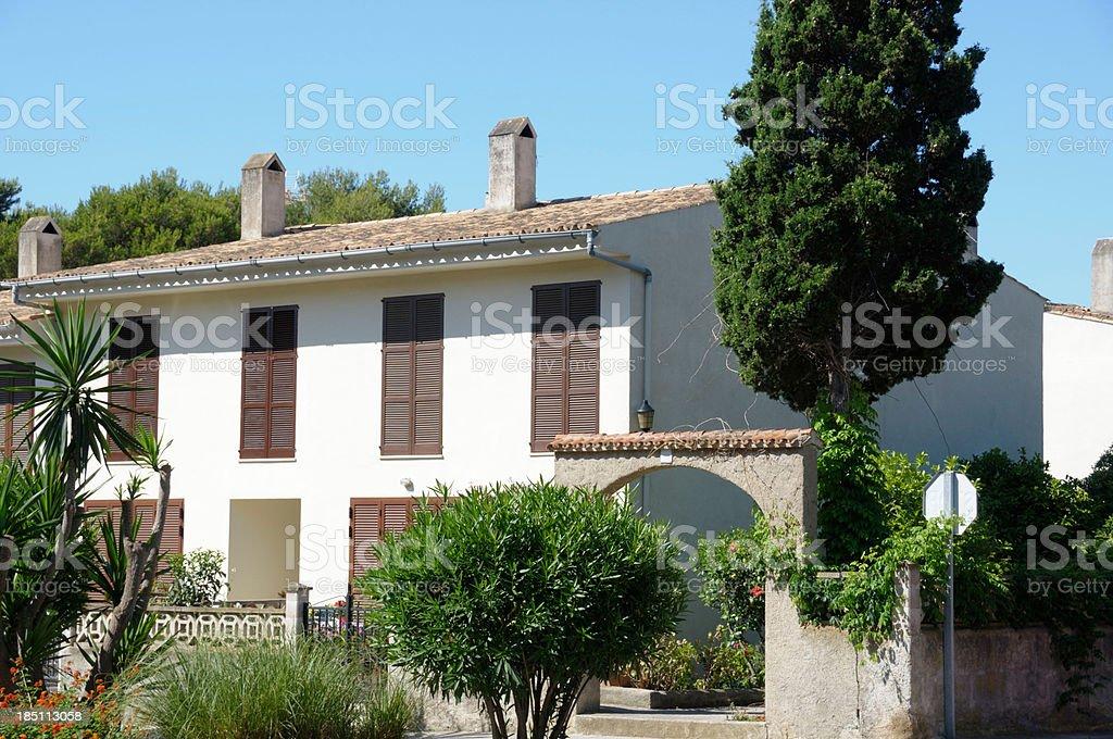 Holiday Villa royalty-free stock photo