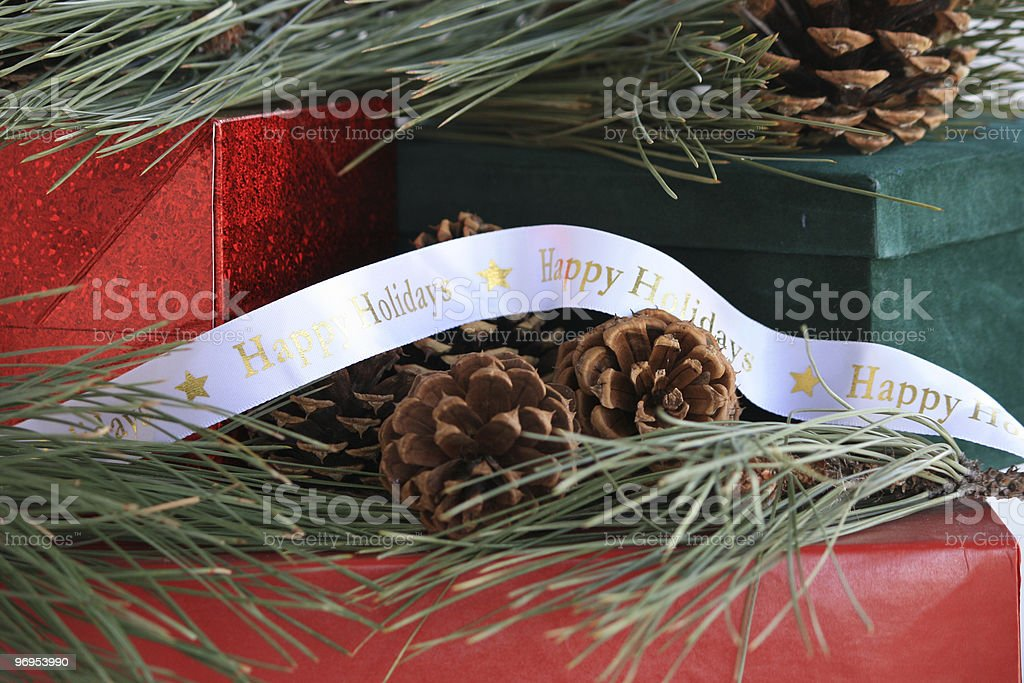 Holiday Wishes royalty-free stock photo