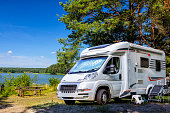 Holiday with motor home