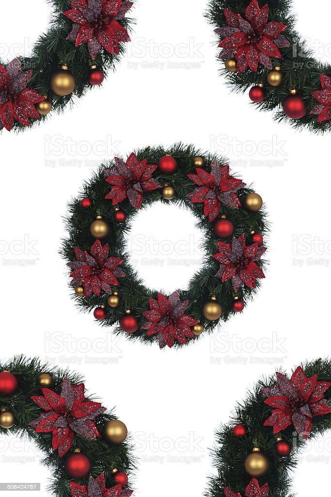 Holiday Wreaths royalty-free stock photo