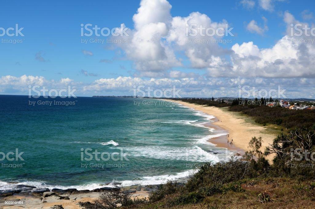 Holidays at the Sunshine Coast in Queensland, Australia stock photo
