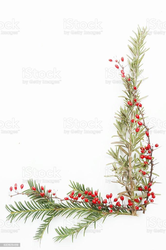 Holidays decoration elements stock photo