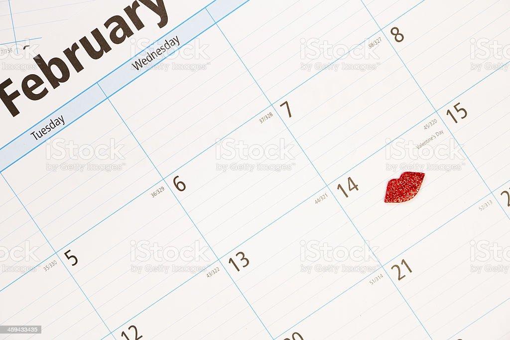 Calendario Con Giorni Festivi.Giorni Festivi Febbraio Calendario Con Attenzione Sul Giorno