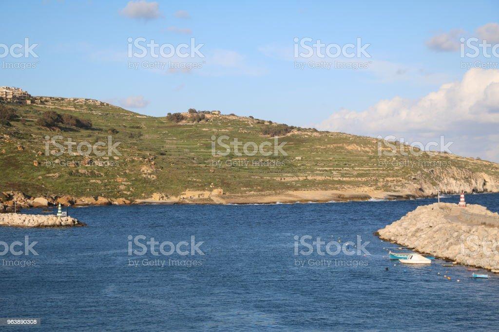 Holidays in Mġarr at Island of Gozo Malta, Mediterranean Sea - Royalty-free Archipelago Stock Photo
