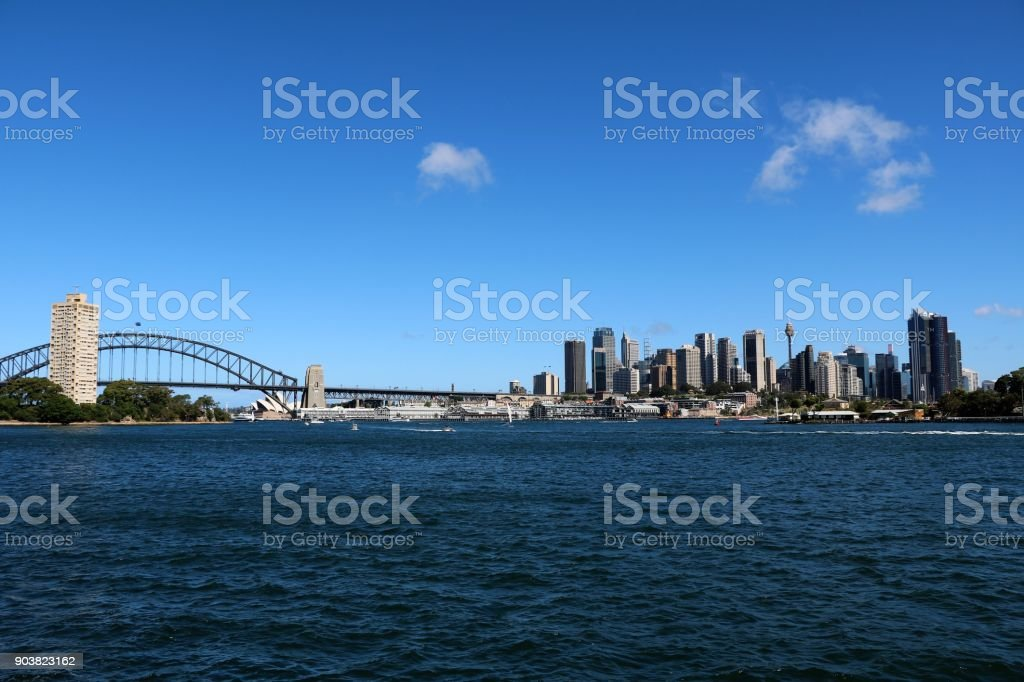 Holidays in Sydney, New South Wales Australia stock photo