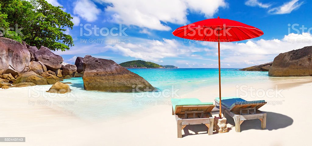 Holidays in Thailand stock photo