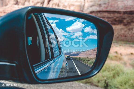 144334852istockphoto Holidays in the USA. Car trip through the National Parks of Arizona 847089410