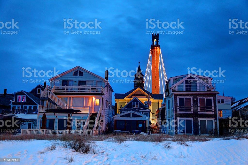 Holidays on Cape Cod stock photo