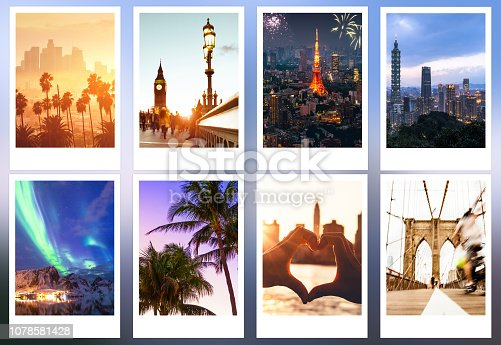 Holidays pictures, landmarks and cityscapes