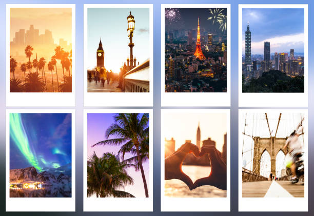 Holidays pictures, landmarks and cityscapes stock photo