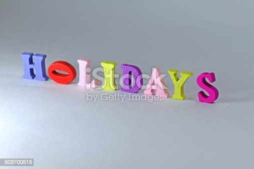 500536143istockphoto Holidays sign 503700515