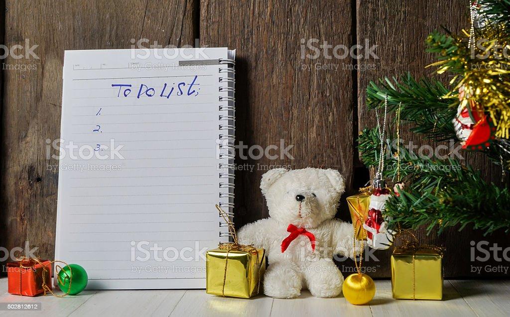 Holidays To do List Book
