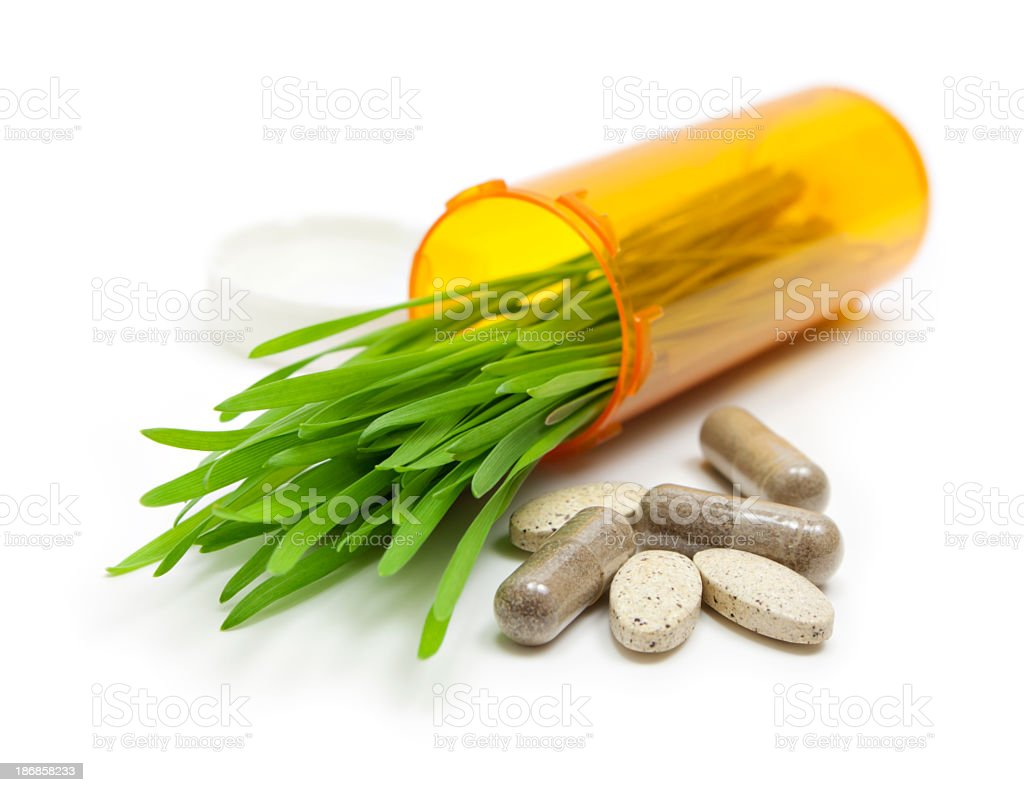 Holistic medicine royalty-free stock photo