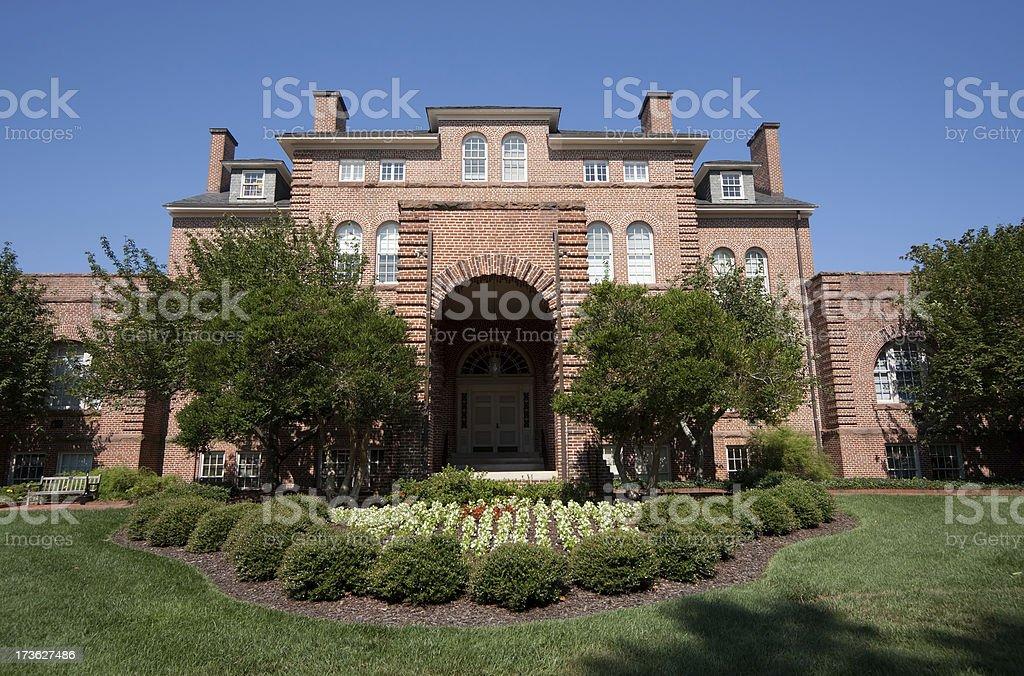 Holladay Hall NCSU stock photo