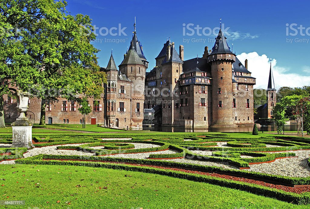 Holland castle stock photo