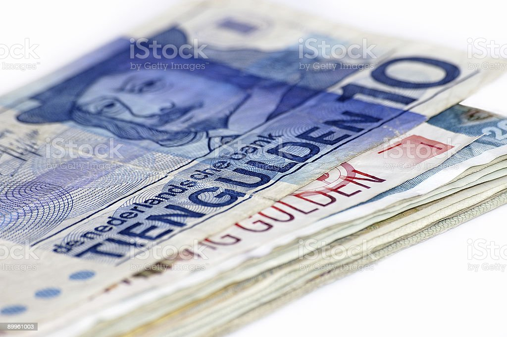 Holland money. royalty-free stock photo