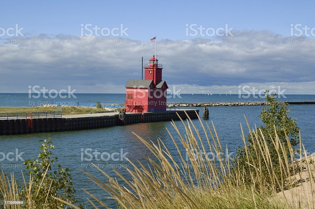 Holland State Park stock photo