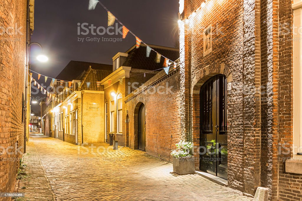 Holland travel in spring stock photo