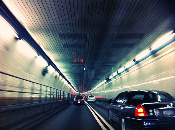 Holland Tunnel in New York, New York, USA – Foto