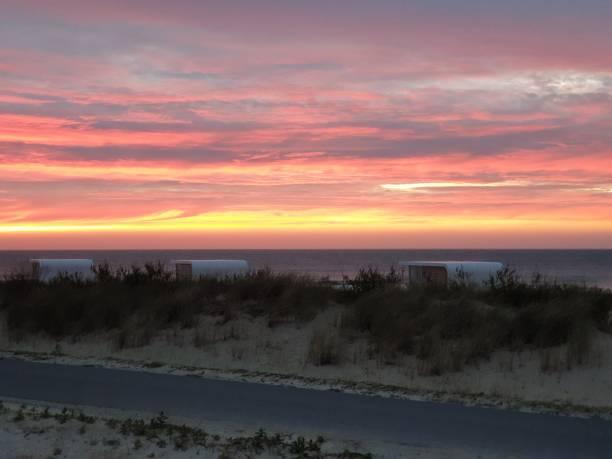 Holland Zeeland Sonnenuntergang – Foto