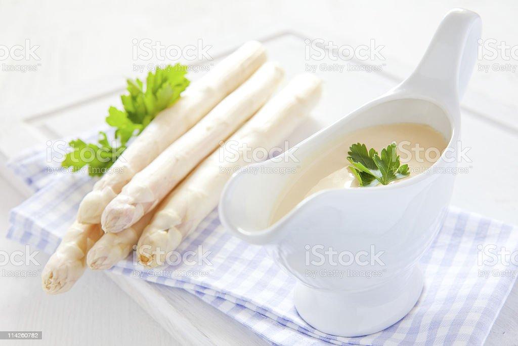 hollandaise sauce stock photo