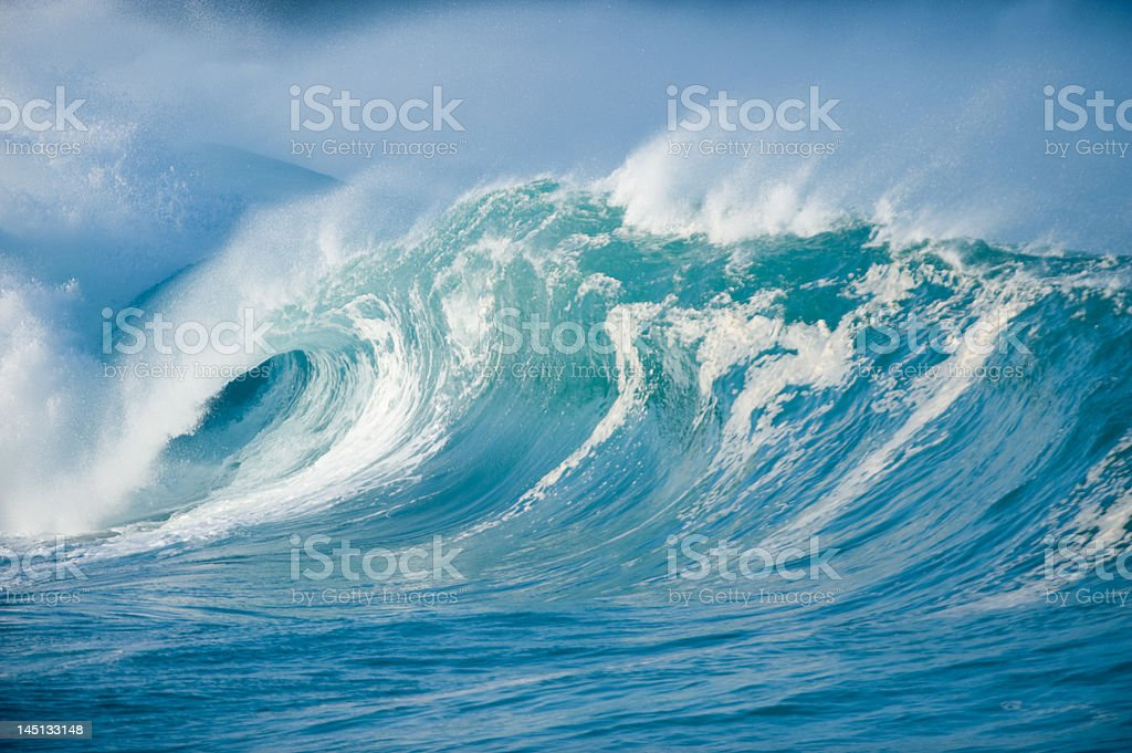 hollow wave royalty-free stock photo